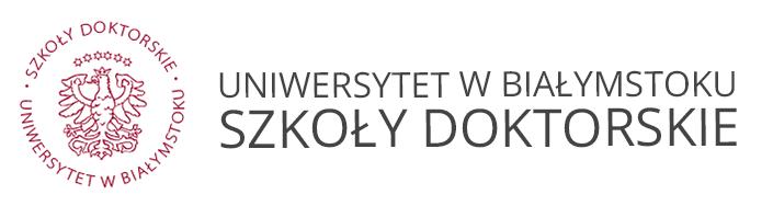 Logo for Szkoły Doktorskie Uniwersytetu w Białymstoku